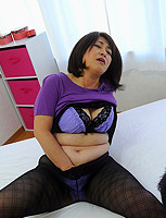 Hot couple shemale in a lustful hot sex