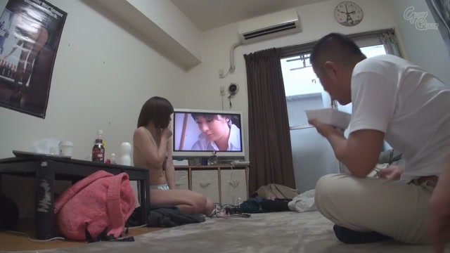 Horny Japanese whore Urumi Narumi in Crazy creampie, threesomes JAV video